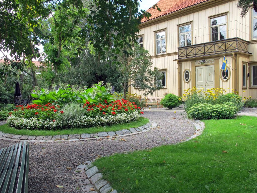 Bild på westerlundska gården utsida av hus