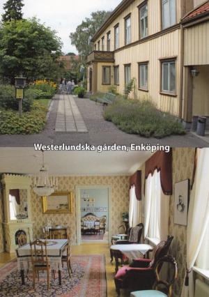 Vykort med bild på Westerlundska gården