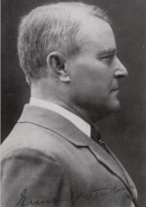 Vykort med bild på Ernst Westerlund